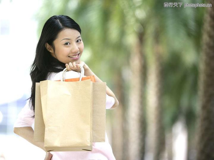 女性购物 美容化妆
