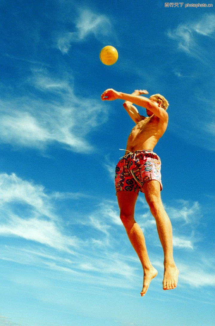 排球扣球的正确手型是怎样的_排球扣球瞬间图片 ...