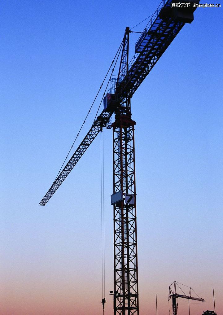 建筑情景,工业,长长铁臂,建筑情景0010