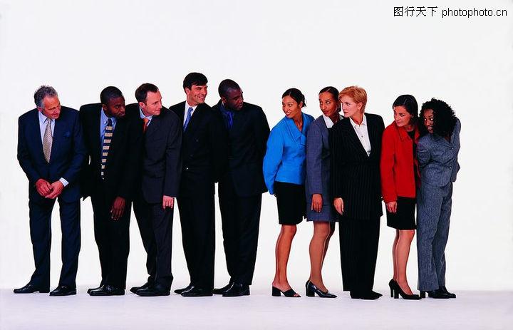 商业团队,商务,列队 队伍,商业团队0096
