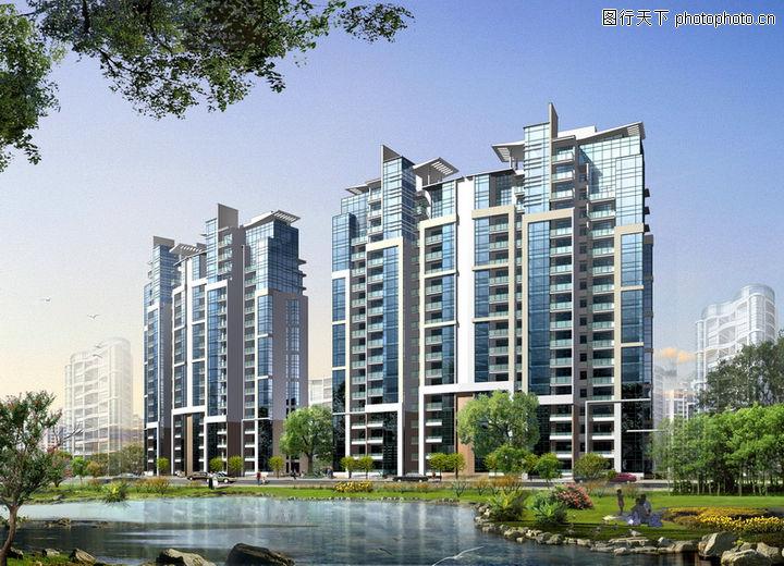 建筑效果图1,建筑效果图,小区,建筑效果图10183