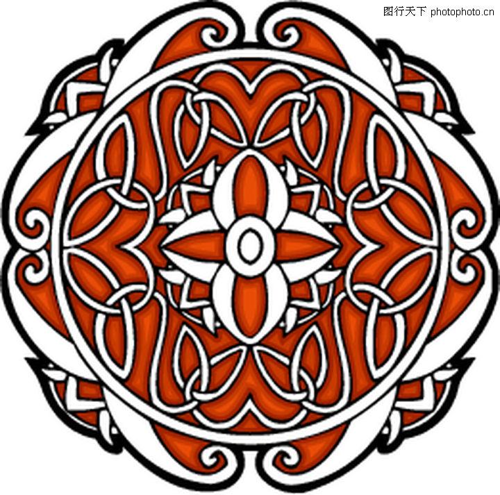 凯尔特装饰品,欧美花纹元素,凯尔特装饰品0230