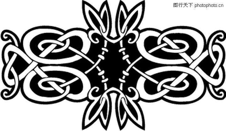黑色的欧式装饰品