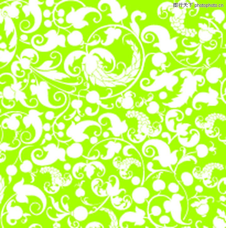 背景 欧美花纹元素 中式布纹
