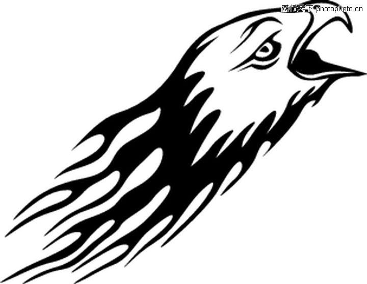 动物纹样设计夸张