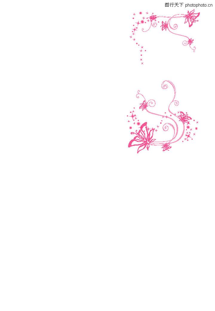 精品花纹图藤,花纹图案,蝴蝶 自然植物,精品花纹图藤0020