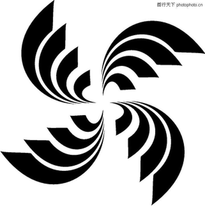 经典部落纹饰 花纹图案