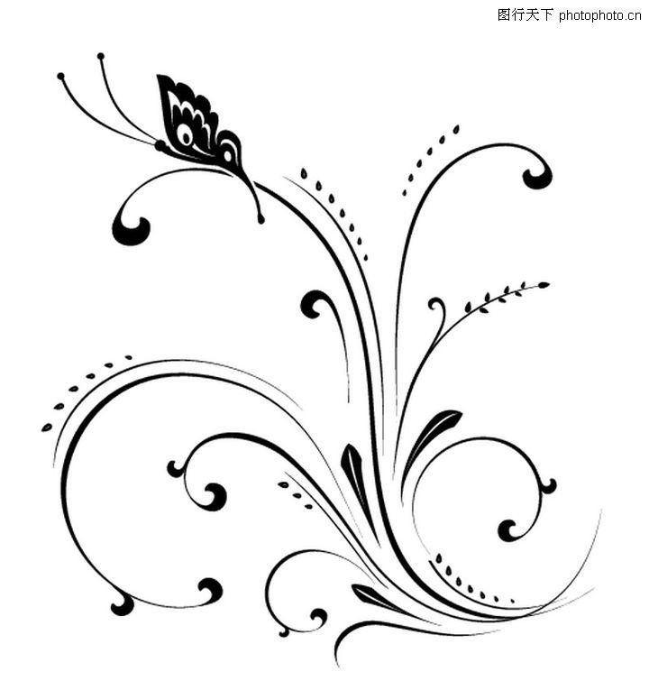 综合花纹绘粹,花纹图案