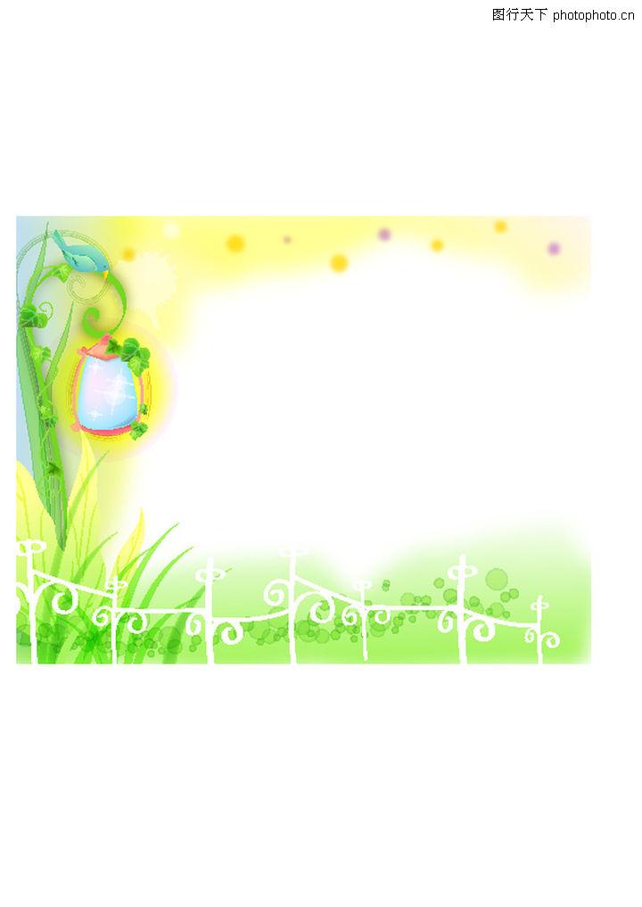 边框花纹,花纹背景,边框花纹0007