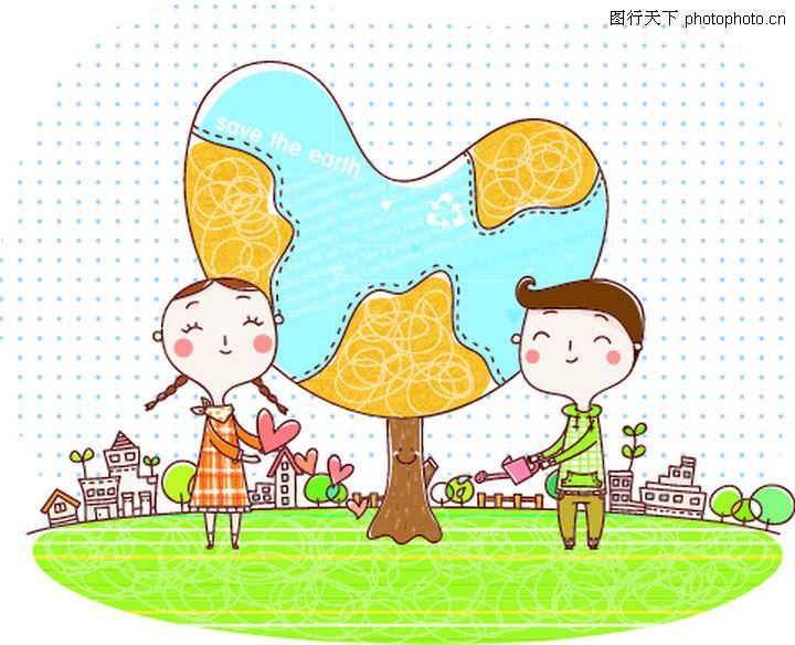 动画儿童0010 动画儿童图 少年儿童图库