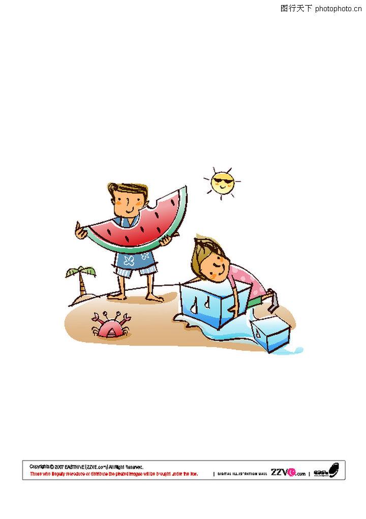 快乐生活0025-快乐生活图-少年儿童图库