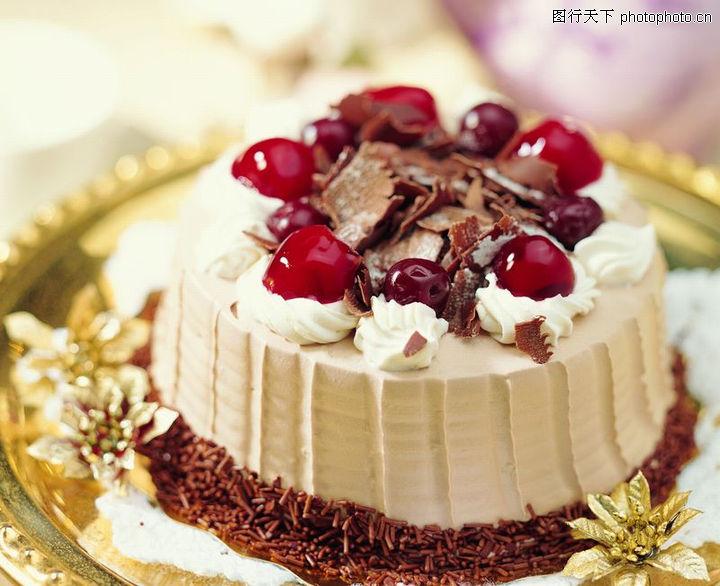 简单的欧式蛋糕图