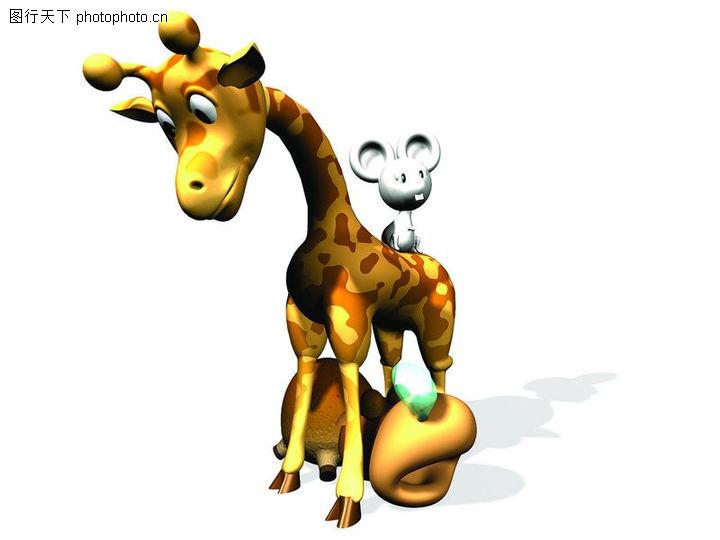 动物立体雕刻图