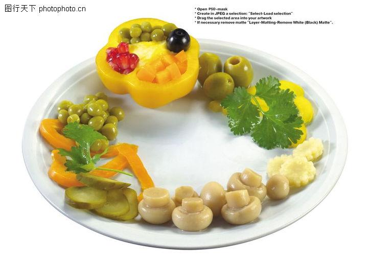 自己动手制作各种蔬菜水果拼盘