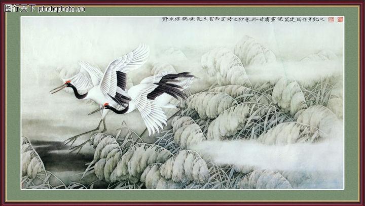 经典壁画,中堂画,经典壁画0010