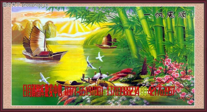 经典壁画,中堂画,经典壁画0013
