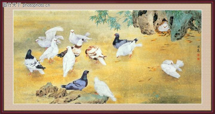 花鸟,中堂画,花鸟0020