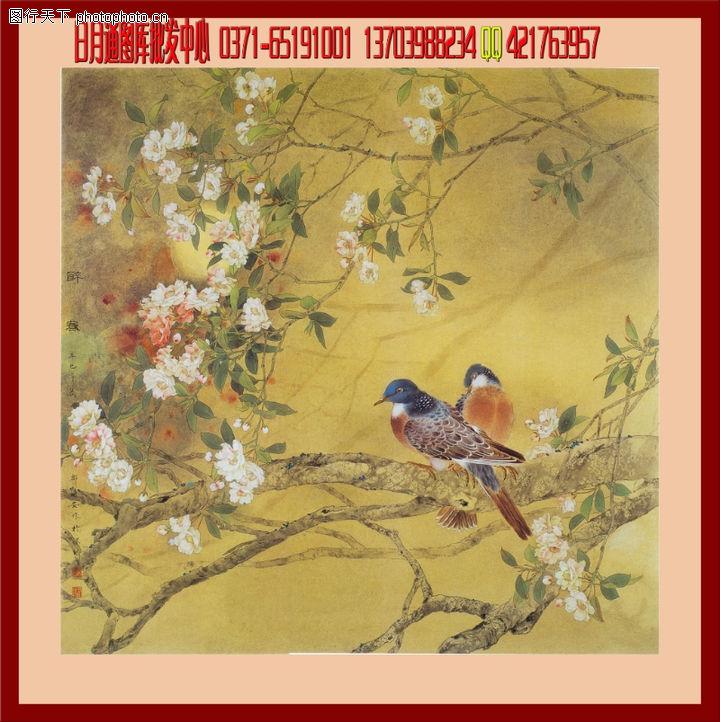 花鸟,中堂画,花鸟0024