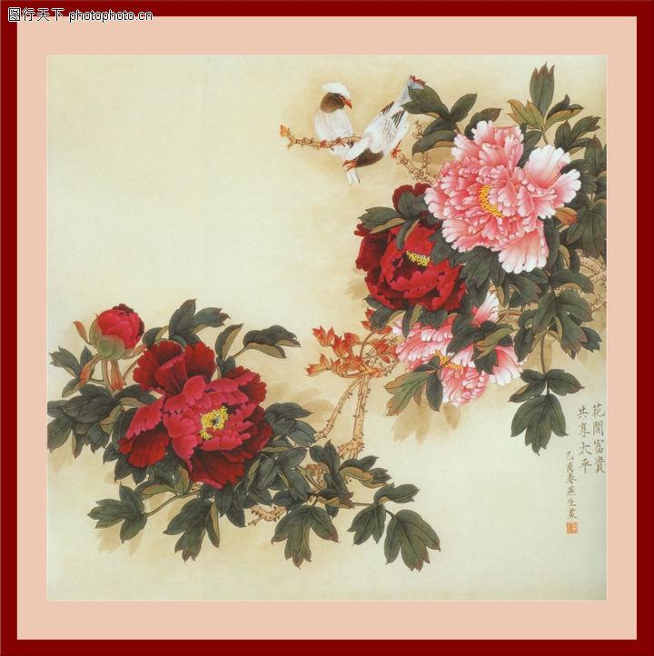 花鸟,中堂画,花鸟0029