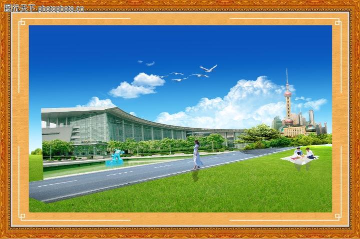 韩国风景,中堂画,韩国风景0001