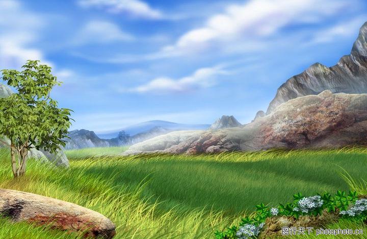 大自然景观,风景,向日葵,大自然景观0079