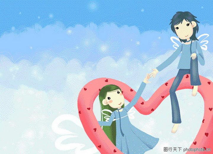 唯美插画,节日,唯美插画0034